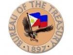 The Bureau of Treasury reported that the Philippines' total debt payment in the first four months of 2012 was down 14 percent at P299.81 billion compared with the P350.29 billion paid in the same period last year.