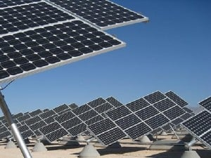 Solar power station. AFP FILE PHOTO