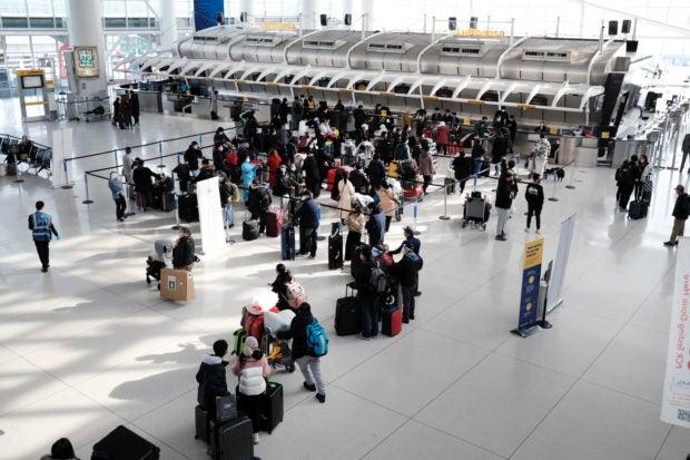 jfk airport passengers